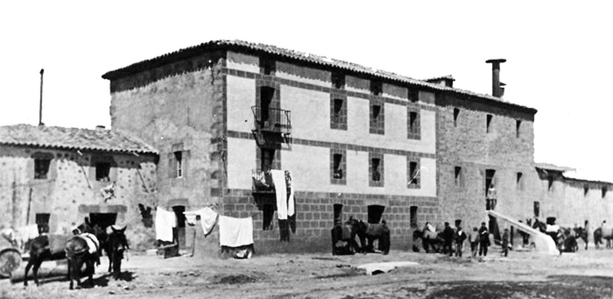 Historia de la abacería - Fabrica de harinas