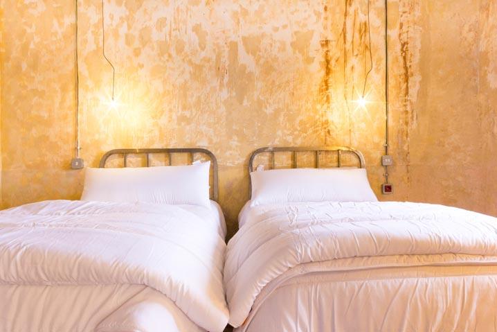 La Abacería Habitación Doble Exterior camas