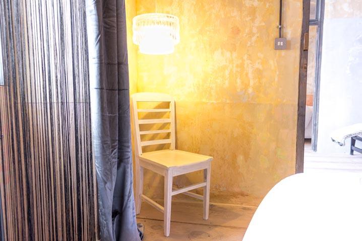 La Abacería Habitación Doble Exterior silla Grande