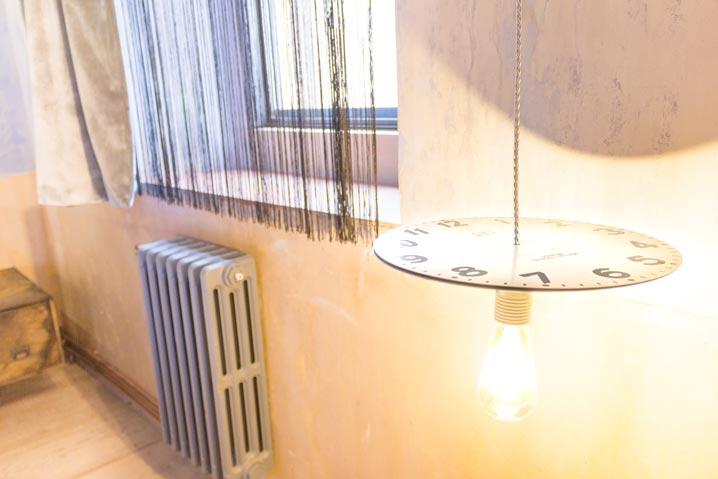 La Abacería Habitación Doble Interior Lámpara Grande