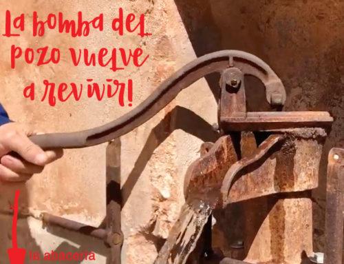 Bomba del pozo de Casa Rural en Soria La Abacería